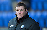 St Johnstone v St Mirren.....11.01.14   SPFL<br /> Tommy Wright<br /> Picture by Graeme Hart.<br /> Copyright Perthshire Picture Agency<br /> Tel: 01738 623350  Mobile: 07990 594431