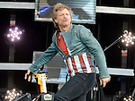 Bon Jovi performing at Slane castle. Photo:Colin Bell/pressphotos.ie
