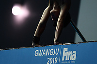 Riccardo Giovannini ITA Italy <br /> Gwangju South Korea 19/07/2019<br /> Men's 10m Platform Preliminary <br /> 18th FINA World Aquatics Championships<br /> Nambu University Aquatics Center  <br /> Photo © Andrea Staccioli / Deepbluemedia / Insidefoto