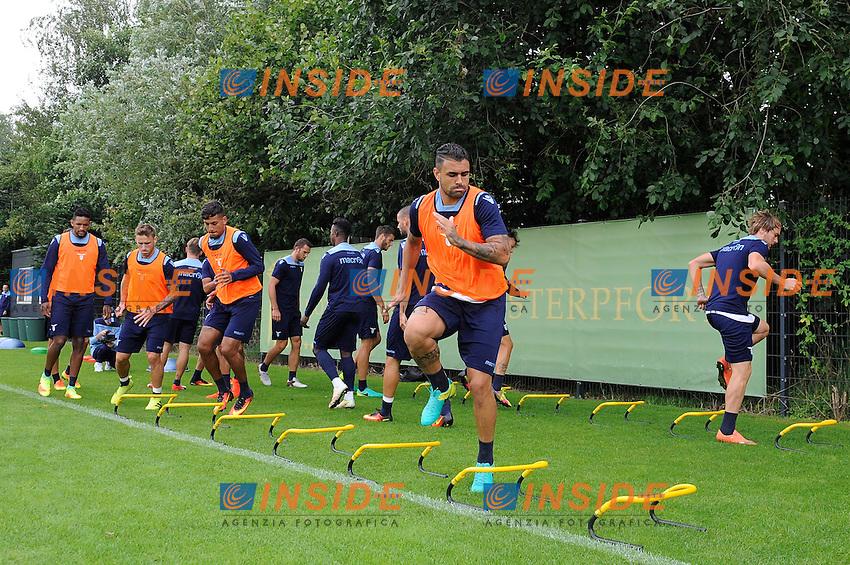 Mauricio Dos Santos<br /> 06-08-2016 Marienield<br /> Allenamento Lazio <br /> SS Lazio traning day<br /> @ Marco Rosi / Fotonotizia / Insidefoto