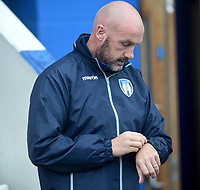 Colchester United manager John McGreal <br /> <br /> Photographer Hannah Fountain/CameraSport<br /> <br /> The EFL Sky Bet League Two - Colchester United v Mansfield Town - Saturday 7th October 2017 - Colchester Community Stadium - Colchester<br /> <br /> World Copyright &copy; 2017 CameraSport. All rights reserved. 43 Linden Ave. Countesthorpe. Leicester. England. LE8 5PG - Tel: +44 (0) 116 277 4147 - admin@camerasport.com - www.camerasport.com