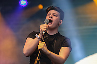 Winner of Redbourne Battle of the Bands, Arccos, performing during AmpRocks 2017, part of Ampthill Festival, at Ampthill Great Park, Ampthill, England on 30 June 2017. Photo by David Horn.