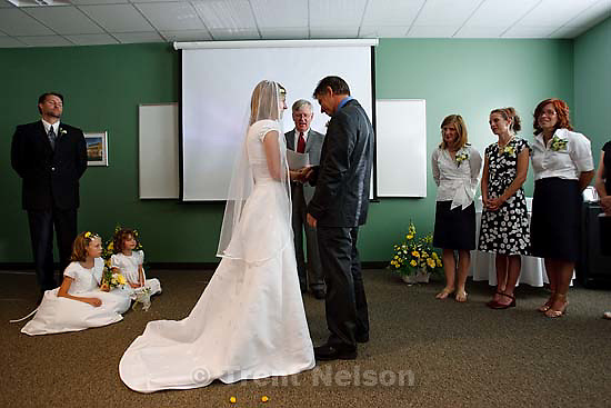 Maddie Quayle, Dave Scott wedding.Monday August 3, 2009 in South Jordan. laura nelson, pat wickman, edie zambrano