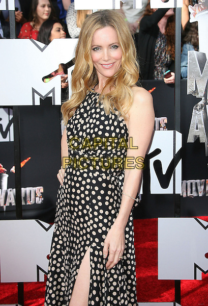 13 April 2014 - Los Angeles, California - Leslie Mann. 2014 MTV Movie Awards held at Nokia Theatre L.A. Live. <br /> CAP/ADM<br /> &copy;AdMedia/Capital Pictures