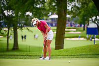 Suzann Pettersen (NOR) watches her putt on 10 during Thursday's round 1 of the 2017 KPMG Women's PGA Championship, at Olympia Fields Country Club, Olympia Fields, Illinois. 6/29/2017.<br /> Picture: Golffile | Ken Murray<br /> <br /> <br /> All photo usage must carry mandatory copyright credit (&copy; Golffile | Ken Murray)