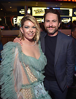 """HOLLYWOOD - SEPTEMBER 24: Mary Elizabeth Ellis, Charlie Day attend the post-party at Dave & Busters following the  premiere of FXX's """"It's Always Sunny in Philadelphia"""" Season 14 on September 24, 2019 in Hollywood, California. (Photo by Stewart Cook/FXX/PictureGroup)"""