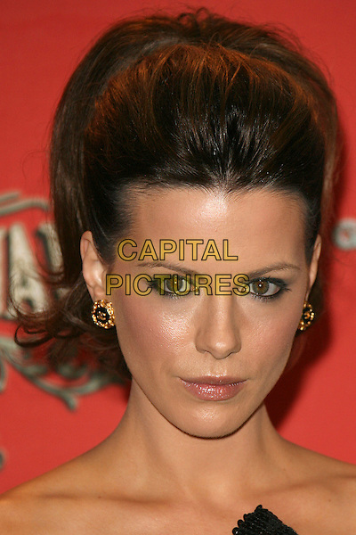 "KATE BECKINSALE.Spike TV Presents ""Scream Awards 2006"" - Arrivals .held at Pantages Theater, Hollywood, California, USA,.7 October 2006..portrait headshot black and gold chanel earrings hair up updo.Ref: ADM/ZL.www.capitalpictures.com.sales@capitalpictures.com.©Zach Lipp/AdMedia/Capital Pictures."