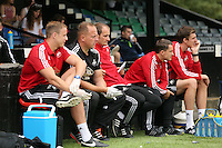 Pictured: David Adams (C) head of coaching Saturday 11 July 2015<br />