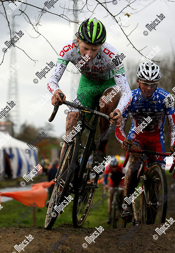 2008-11-11 / Veldrijden / Niel / Gerry Druyts..Foto: Maarten Straetemans (SMB)