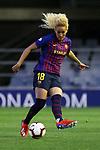 UEFA Women's Champions League 2018/2019.<br /> Quarter Finals.<br /> FC Barcelona vs LSK Kvinner FK: 3-0.<br /> Kheira Hamraoui.