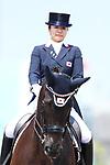 Akane Kuroki (JPN), <br /> AUGUST 20, 2018 - Equestrian : <br /> Dressage Team <br /> at Jakarta International Equestrian Park <br /> during the 2018 Jakarta Palembang Asian Games <br /> in Jakarta, Indonesia. <br /> (Photo by Naoki Nishimura/AFLO SPORT)