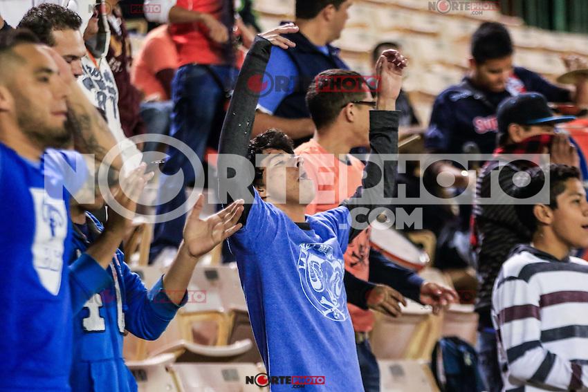 Aspectos, durante el partido correspondiente a la jornada 15 del torneo liga de Ascenso Mx 2015,Atletico San Luis  vs Cimarrones FC en estadio Hector Espino.<br /> <br /> HermosilloSonora a 13 noviembre 2015.<br /> CreditoFoto:LuisGutierrez