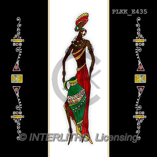 Kris, ETHNIC, paintings+++++,PLKKE435,#ethnic# Africa