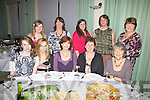 At the Boston Tea Party in aid of Chernoble Children Project International held in the Waterville Lake Hotel on Friday last were front l-r; Aoifa Sugrue, Ciara O'Shea, Olivia Kennedy(Secretary), Eileen O'Sullivan(Leader), Eithne Uí Ríordán, back l-r; Cara Sheehan, Jacinta Sheehan, Karen Cross, Joan Moriarty & Noreen Sugrue.