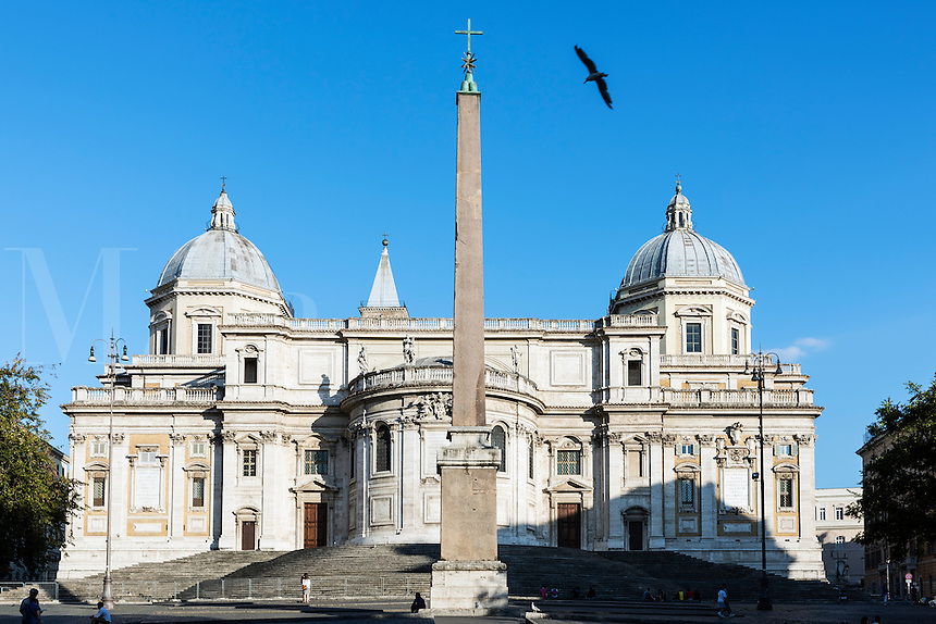 Basilica di Santa Maria Maggiore, Piazza del Esquilino, Rome, Italy