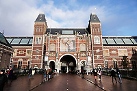 Nederland Amsterdam - december 2017. Het Rijksmuseum in Amsterdam. Foto Berlinda van Dam / Hollandse Hoogte