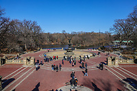 NOVA YORK, EUA, 20.01.2020 - TURISMO-EUA - Vista do Bethesda Fountain no  Central Park na cidade de Nova York nos Estados Unidos nesta segunda-feira, 20. (Foto: William Volcov/Brazil Photo Press)