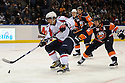 Jan 19, 2009; Uniondale, NY, USA; Washington Capitals leftwing Alex Ovechkin (8) during game against the New York Islanders at the Nassau Coliseum.Capitals defeated the Islanders 2-1 in OT. Mandatory Credit: Tomasso DeRosa