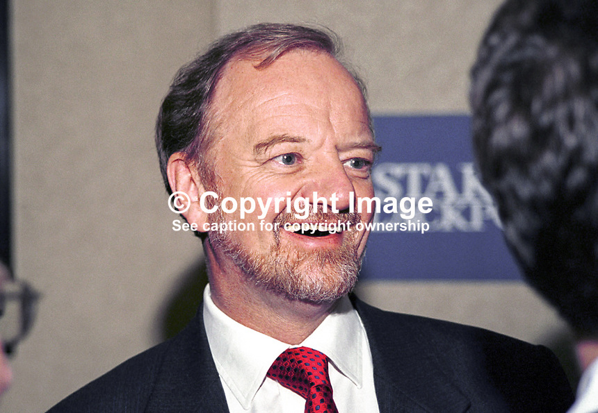 Robin Cook, Labour MP, Foreign Secretary, Taken at Labour Party Annual Conference, Ref: 199810267.<br />