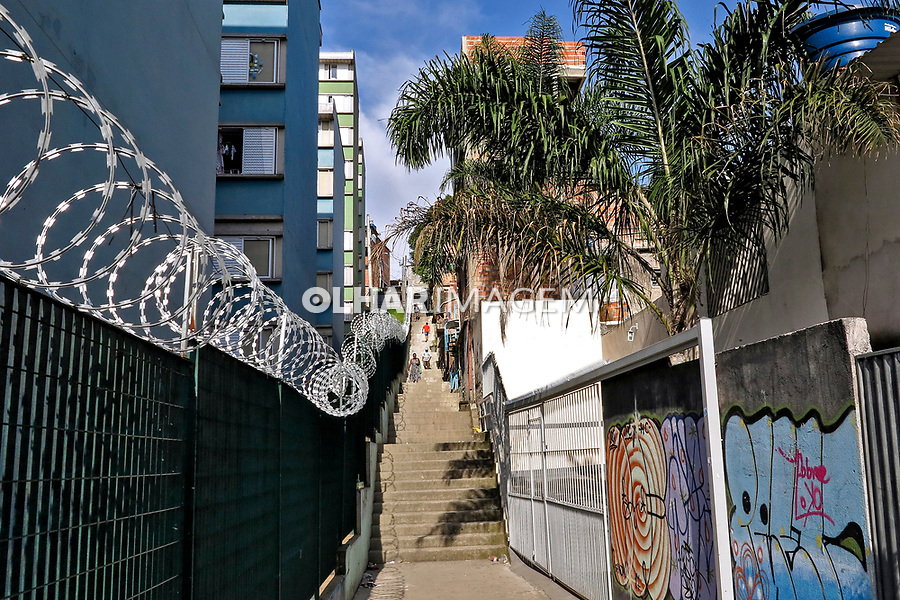 Favela Paraisópolis. Sao Paulo. 2019. Foto de Marcia Minillo.