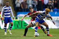Fulham's Tom Cairney battles for possession with Reading's Daniel Williams        <br /> <br /> <br /> Photographer Craig Mercer/CameraSport<br /> <br /> The EFL Sky Bet Championship Play-Off Semi Final Second Leg - Reading v Fulham - Tuesday May 16th 2017 - Madejski Stadium - Reading <br /> <br /> World Copyright &copy; 2017 CameraSport. All rights reserved. 43 Linden Ave. Countesthorpe. Leicester. England. LE8 5PG - Tel: +44 (0) 116 277 4147 - admin@camerasport.com - www.camerasport.com