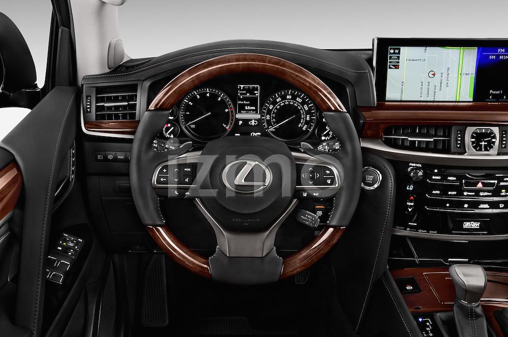 2017 lexus lx 570 5 door suv steering wheel cars pictures | izmostock
