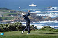 Lanto Griffin (USA) in action at Spyglass Hill during the first round of the AT&T Pro-Am, Pebble Beach Golf Links, Monterey, California, USA. 06/02/2020<br /> Picture: Golffile | Phil Inglis<br /> <br /> <br /> All photo usage must carry mandatory copyright credit (© Golffile | Phil Inglis)