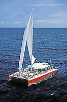 Day-sail catamaran, St. Lucia