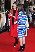Amy Childs and Imogen Thomas attend press performance of Where Is Peter Rabbit? musical following the beloved character Peter Rabbit and his friends in a story based on Beatrix Potter's magical world, at Theatre Royal Haymarket<br /> CAP/JOR<br /> &copy;JOR/Capital Pictures