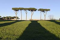 Roma, 6 Dicembre 2012.Parco degli Acquedotti.