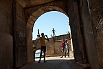 In 1535 the Portuguese built the Diu Fort, as part of a defense alliance with Bahadur Shah, the Sultan of Gujarat, against the Mughal Emperor Humayun. Today it attracts hundreds of tourists daily, many of whom like to pose on its ramparts.