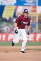 July 4, 2009: Yakima Bears third baseman Matthew Davidson, the Arizona Diamondbacks first pick in the Compensation-A round, goes from second to third base during a Northwest League game against the Everett AquaSox at Everett Memorial Stadium in Everett, Washington.