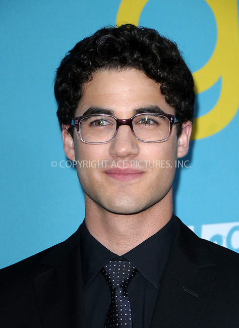 WWW.ACEPIXS.COM . . . . .  ..... . . . . US SALES ONLY . . . . .....May 1 2012, LA....Darren Criss at a special screening of Glee at the Television Academy on May 1 2012 in Los Angeles ....Please byline: FAMOUS-ACE PICTURES... . . . .  ....Ace Pictures, Inc:  ..Tel: (212) 243-8787..e-mail: info@acepixs.com..web: http://www.acepixs.com