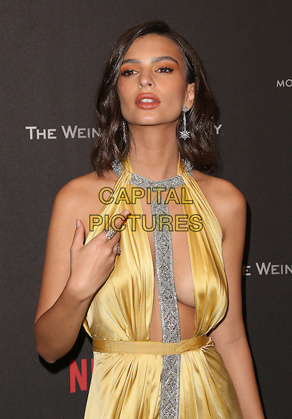 08 January 2016 - Beverly Hills, California - Emily Ratajkowski. 2017 Weinstein Company And Netflix Golden Globes After Party held at the Beverly Hilton. <br /> CAP/ADM/FS<br /> &copy;FS/ADM/Capital Pictures
