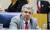 SAO PAULO, SP, 05 DE FEVEREIRO 2013 - ABERTURA ANO LEGISLATIVO - Presidente da Camara dos Vereadores Jose Americo durante abertura da sessão de Abertura do Ano Legislativo da Câmara Municipal de São Paulo (SP), nesta terça-feira (5). FOTO: VANESSA CARVALHO - BRAZIL PHOTO PRESS