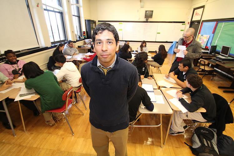 Armando Orduna teacher at Austin High School.
