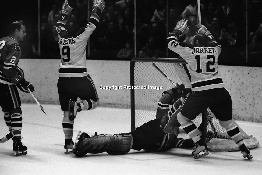 California Golden Seals vs Chicago Black Hawks 1970<br />
