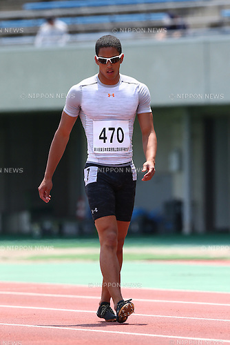 Aska Cambridge,<br /> MAY 21, 2016 - Athletics :<br /> The 58th East Japan Industrial Athletics Championship <br /> Men's 100m Heat<br /> at Kumagaya Sports Culture Park Athletics Stadium, Saitama, Japan. <br /> (Photo by Shingo Ito/AFLO SPORT)