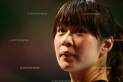 Saori Kimura (JPN), <br /> AUGUST 23, 2014 - Volleyball : <br /> FIVB World Grand Prix 2014 final round match <br /> between Japan 3-0 Belgium <br /> at  Ariake Coliseum, Tokyo, Japan. <br /> (Photo by AFLO SPORT) [1205]