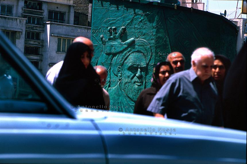 Scene di vita quotidiana a Teheran. Normal life in Tehran.