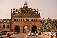 Gate of the walled city of Lucknow.