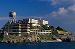 Alcatraz Island in san Francisco Bay, correctional facility, San Francisco, California USA