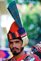 Piper in a military band in Pakistan