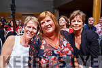 Kilmoyley trio Bernie Young, Liz Denault and Margaret Foley pictured at the Enable Ireland Lip Sing battle at the Ballyroe Heights hotel on Saturday night.