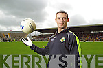 Shane Enright at the Kerry Senior Football Team Media day at Fitzgerald Stadium on Saturday.