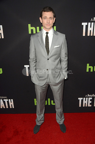 LOS ANGELES, CA - MARCH 21: Hugh Dancy at the Los Angeles premiere of Hulu's The Path at The ArcLight Hollywood in Los Angeles, California on March 21, 2016. Credit: David Edwards/MediaPunch