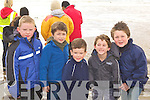 3742-3747.Braving the cold was Caolim Moriarty, Ethan Garcia, Dylan Mangan, Rian O'Donovan and Liam Spillane Glenbeigh at the Irish Seal Sanctuary release 'Sammy' at Rossbeigh beach on Saturday.
