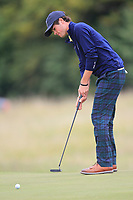 Cole Hammer of Team USA on the 7th green during Round 3 of the WATC 2018 - Eisenhower Trophy at Carton House, Maynooth, Co. Kildare on Friday 7th September 2018.<br /> Picture:  Thos Caffrey / www.golffile.ie<br /> <br /> All photo usage must carry mandatory copyright credit (&copy; Golffile | Thos Caffrey)