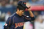 Tetsuya Utsumi (JPN), .February 26, 2013 - WBC : .2013 World Baseball Classic, Exhibithion Game .match between Japan 0-1 Hanshin Tigers  .at Kyocera Dome, Osaka, Japan..(Photo by AJPS/AFLO SPORT)