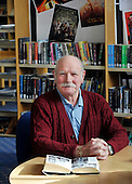 Shettleston Library - Glasgow - local historian Tony Jaconelli - picture by Donald MacLeod -27.02.13 - 07702 319 738 - clanmacleod@btinternet.com - www.donald-macleod.com